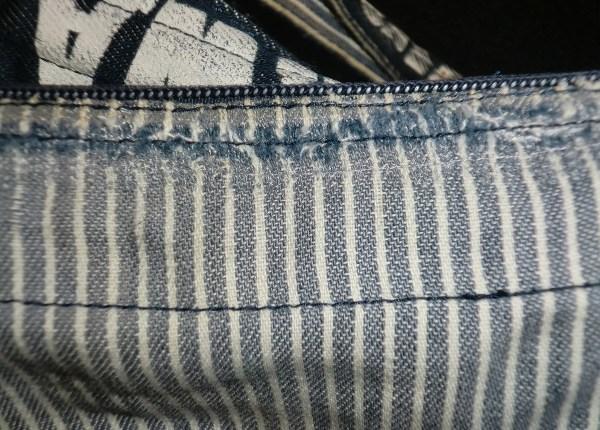 【感動】諦めかけていたビリビリに破れたデニム生地のバッグが直った!【修理】