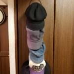 【帽子の見せる収納に便利】Amazonでジョイントハンガーを購入してみたらかなり良かった【予算1500円以下】