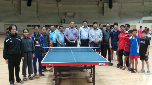 Maharashtra Team For National Table Tennis Declared