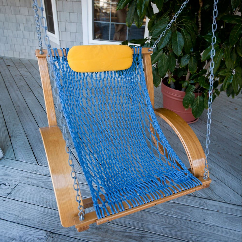 swing chair hire vinyl cleaner bent oak single nags head hammocks sku nhbss k swings