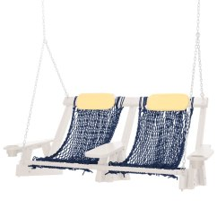 Rope Chair Swing Adirondack Chairs Walmart Durawood Deluxe Seat Replacement Nags Head Hammocks Sku Dw Dlx Furniture