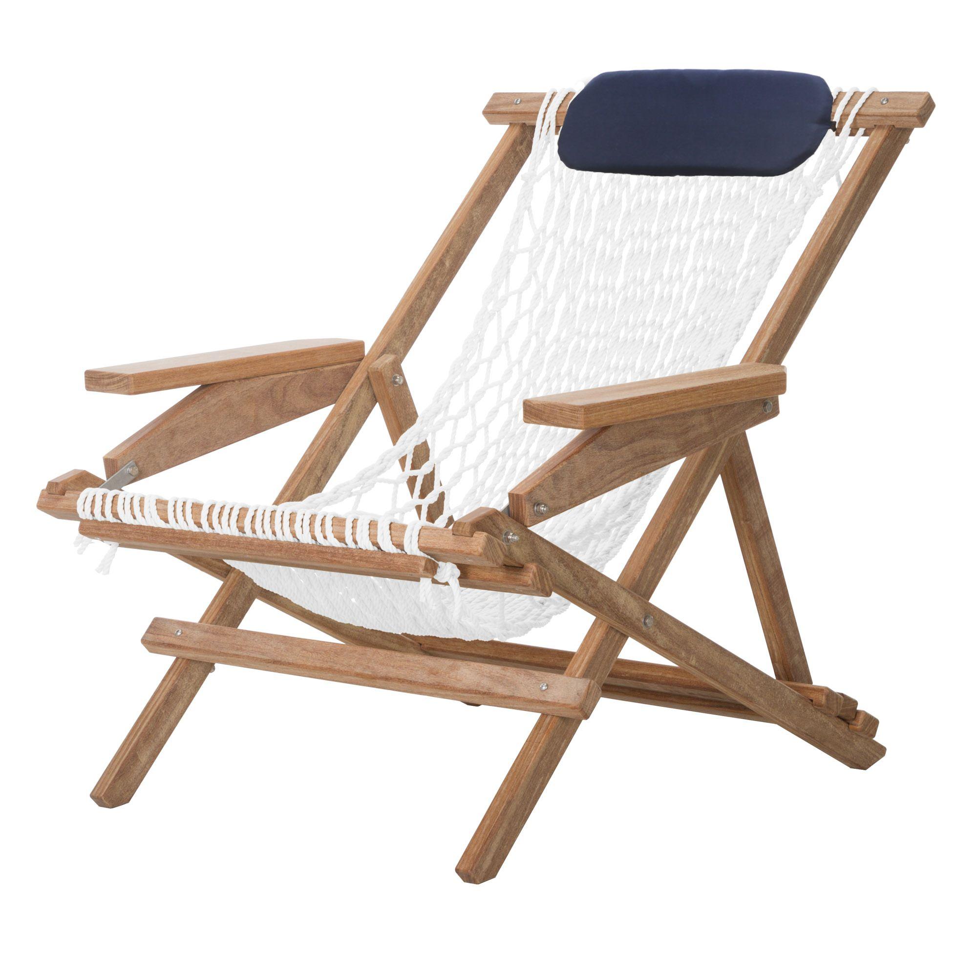 hammock chair instructions wood lounge outdoor cumaru captain 39s
