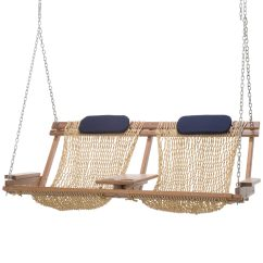 Hanging Chair Double Love Making Deluxe Cumaru Porch Swing