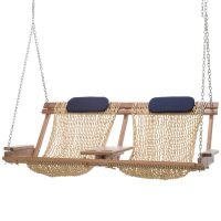 Deluxe Double Cumaru Porch Swing