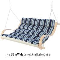 48 Replacement Cushion for 60 Curved Arm Double Swing