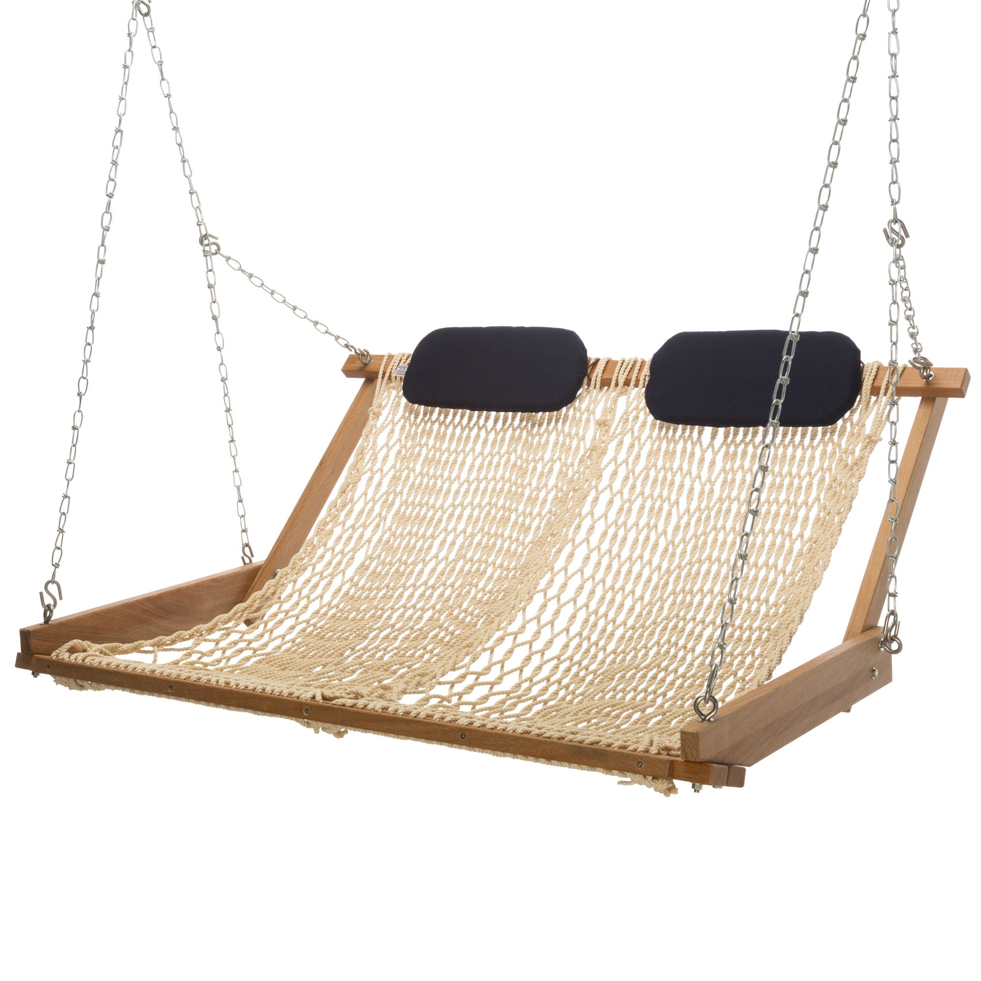 hammock chair instructions dining chairs with arms original cumaru rope porch swing