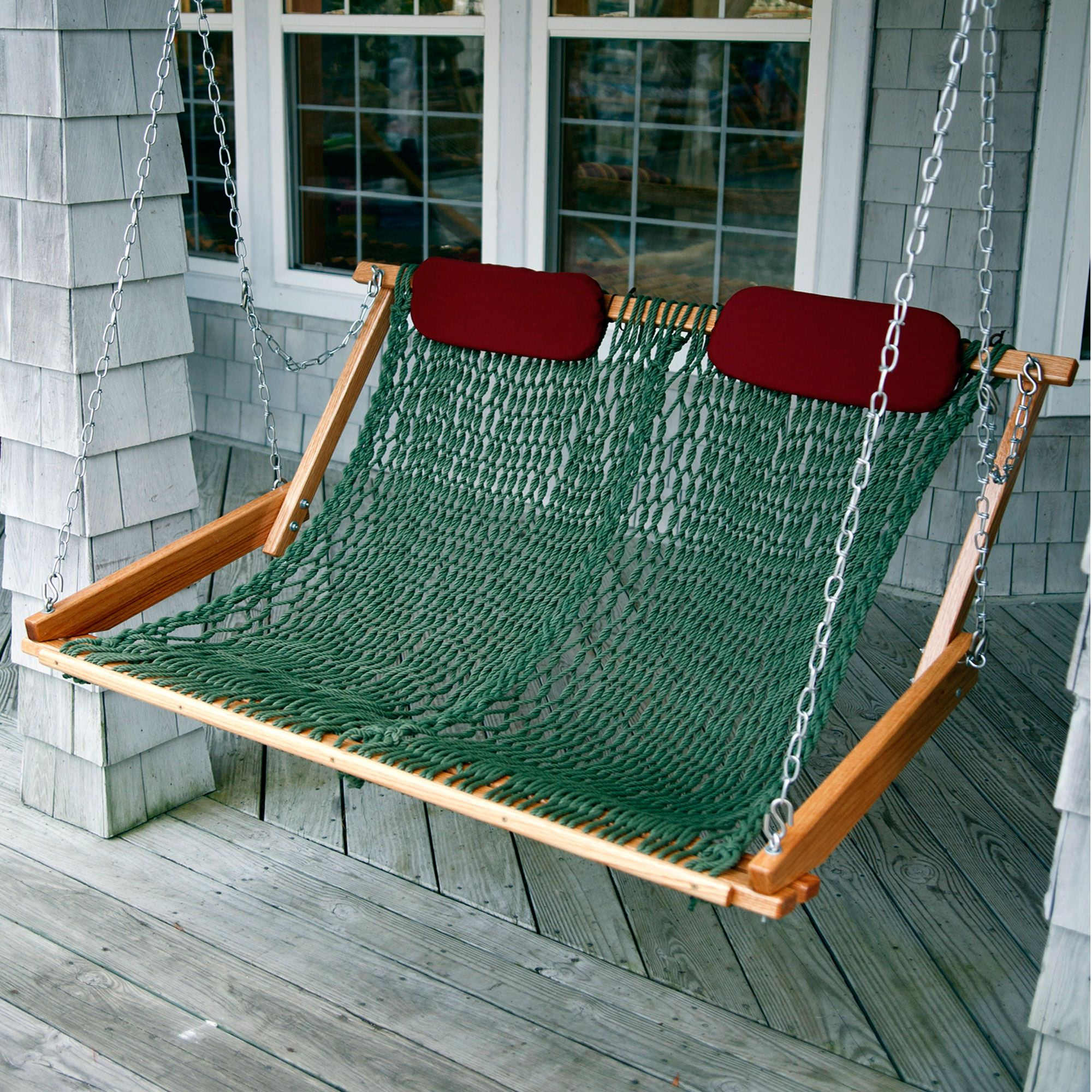 hammock chair instructions restaurant table and chairs original rope porch swing