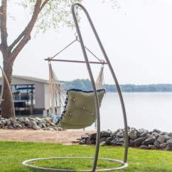 Buy Chair Swing Stand Tri Fold Lawn Taupe Steel Single On Sale Swsc1t