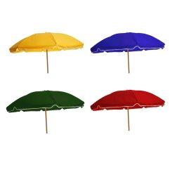 Double Adirondack Chairs With Umbrella Cowhide Nz Beach Wood Pole Frankford Umbrellas Sku