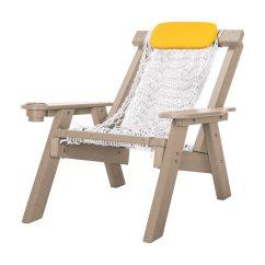 Hammock Chair Instructions Teen Sleeper Weatherwood Durawood Single Rope Nags Head
