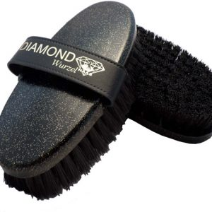 Diamond wurzel horse brush
