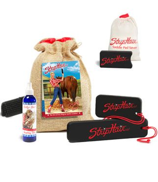 StripHair Bundle with Saddle Pad Saver