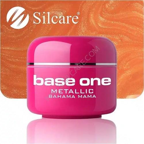 UV nagų gelis Base  Metallic Bahama Mama 5g