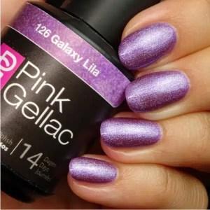 Profesionalus ilgalaikis gelinis lakas Pink Gellac Bronzy Pink 5 ml