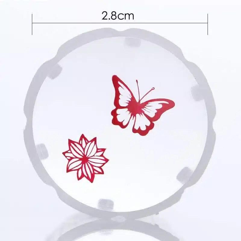 Dvipusis silikoninis antspaudas nagų dailei