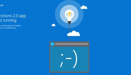 Azure FunctionsのPythonサポートがGAになった