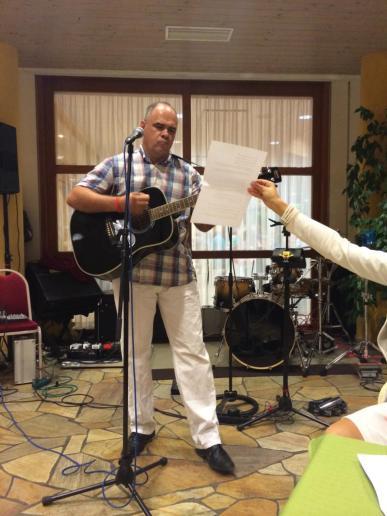 Nagy Gábor zenei előadása