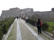 A vár bejárata!