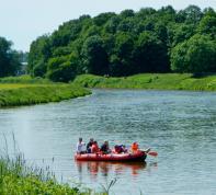 Schlauchboot-Tour im Muldental