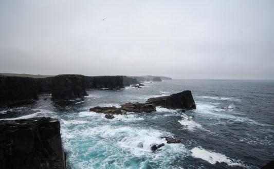 Atlantikküste bei Eshaness (Mainland, Northmavine)