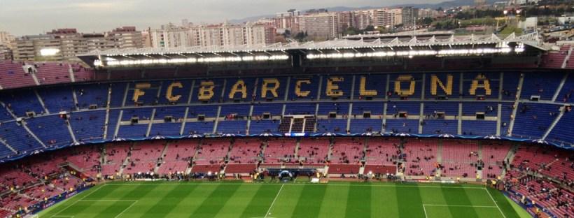 Jogo de futebol Barcelona