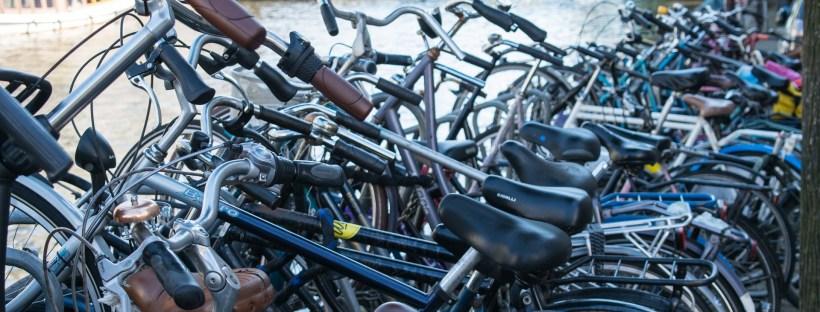 Andar e Alugar bicicleta em Amsterdam