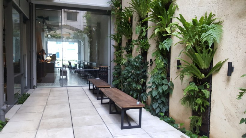 Punch Cafe Singapore - Courtyard