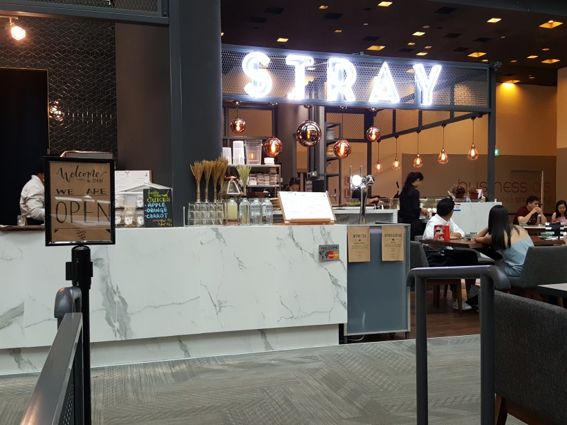 Stray By Fatcat At Orchard Central - Counter