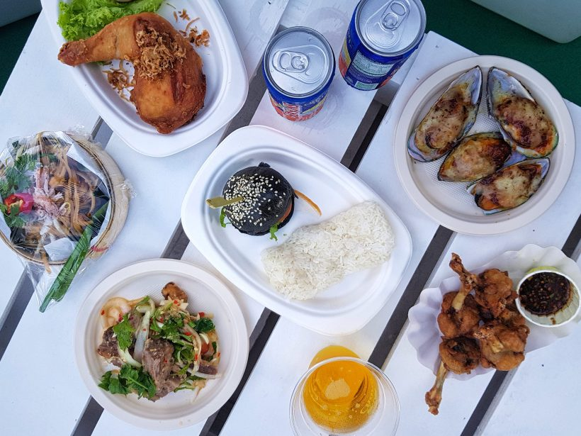 Chang Sensory Trails 2017, The Promontory At Marina Bay Singapore - All Food