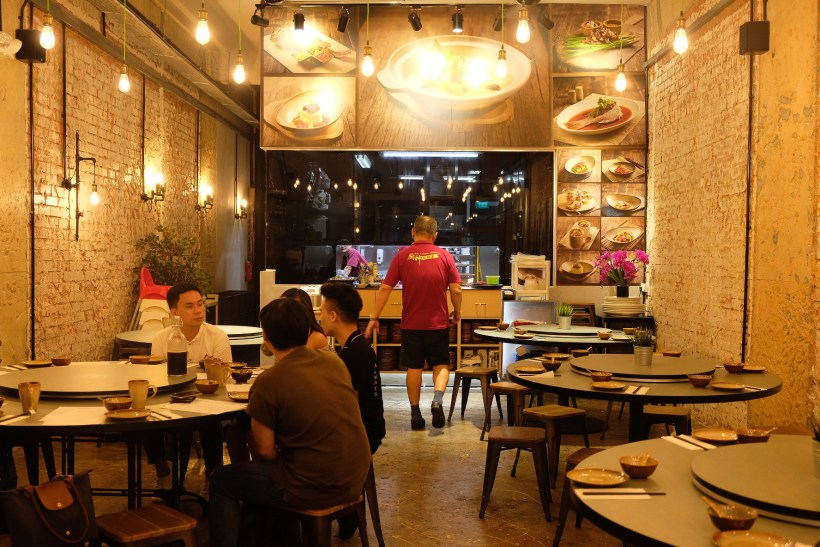 The Chinese Kitchen 厨神私房菜 At Cavan Road, Whipping Extremely Delicious Dishes - Overview of Interior