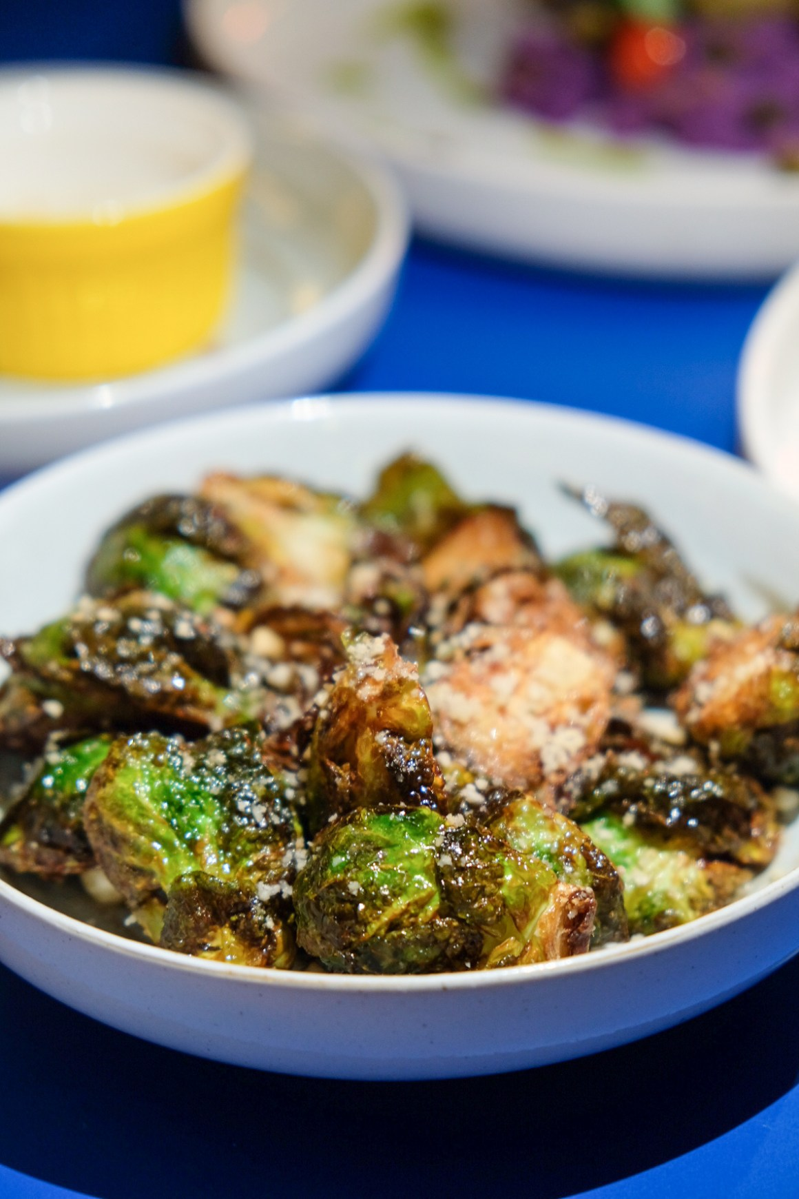 The Garden Club Serving Healthy Food At Downtown Gallery - Fried Brussels Sprouts ($9)