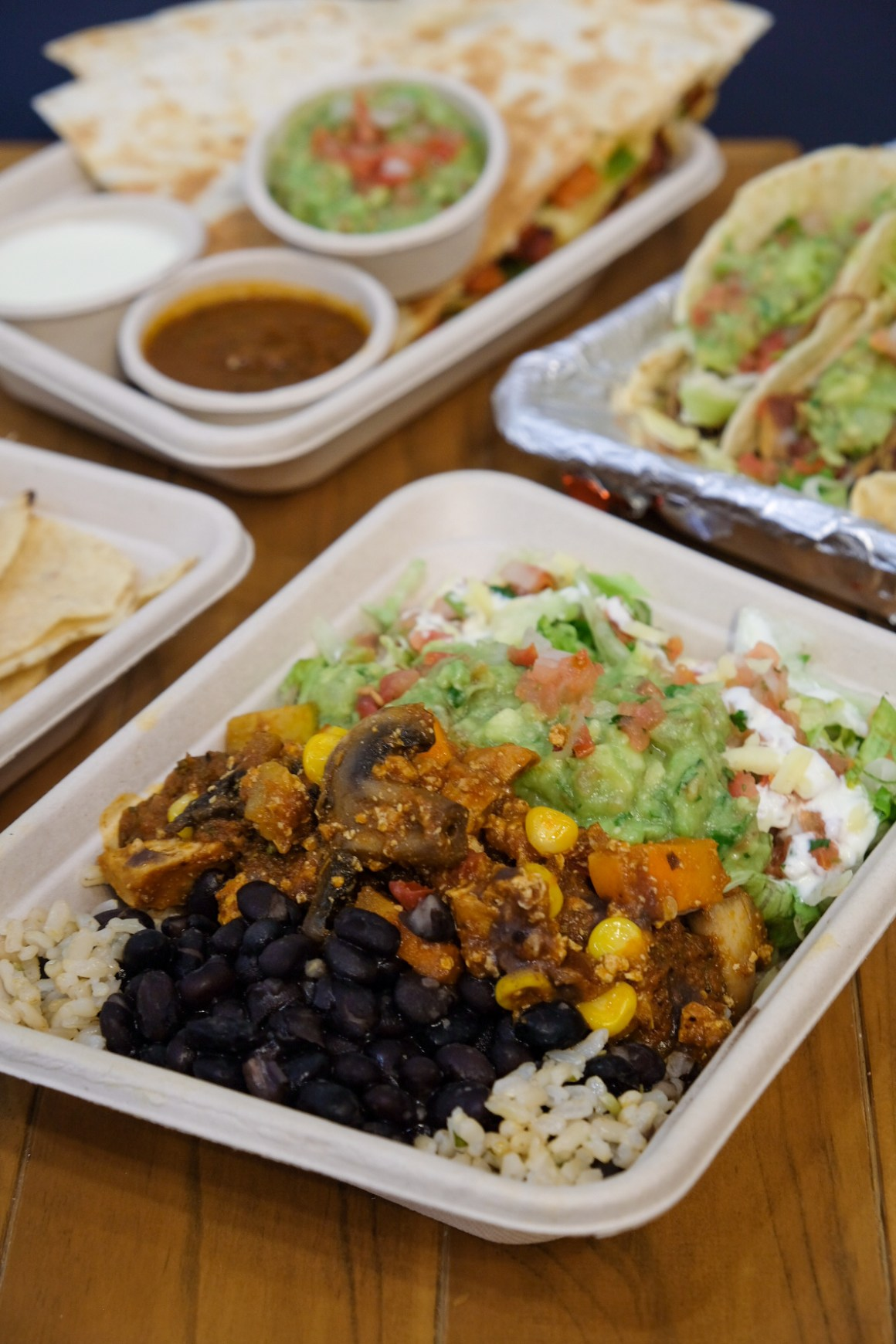 Naked Burrito ($11.90 - regular / $8.90 - small)
