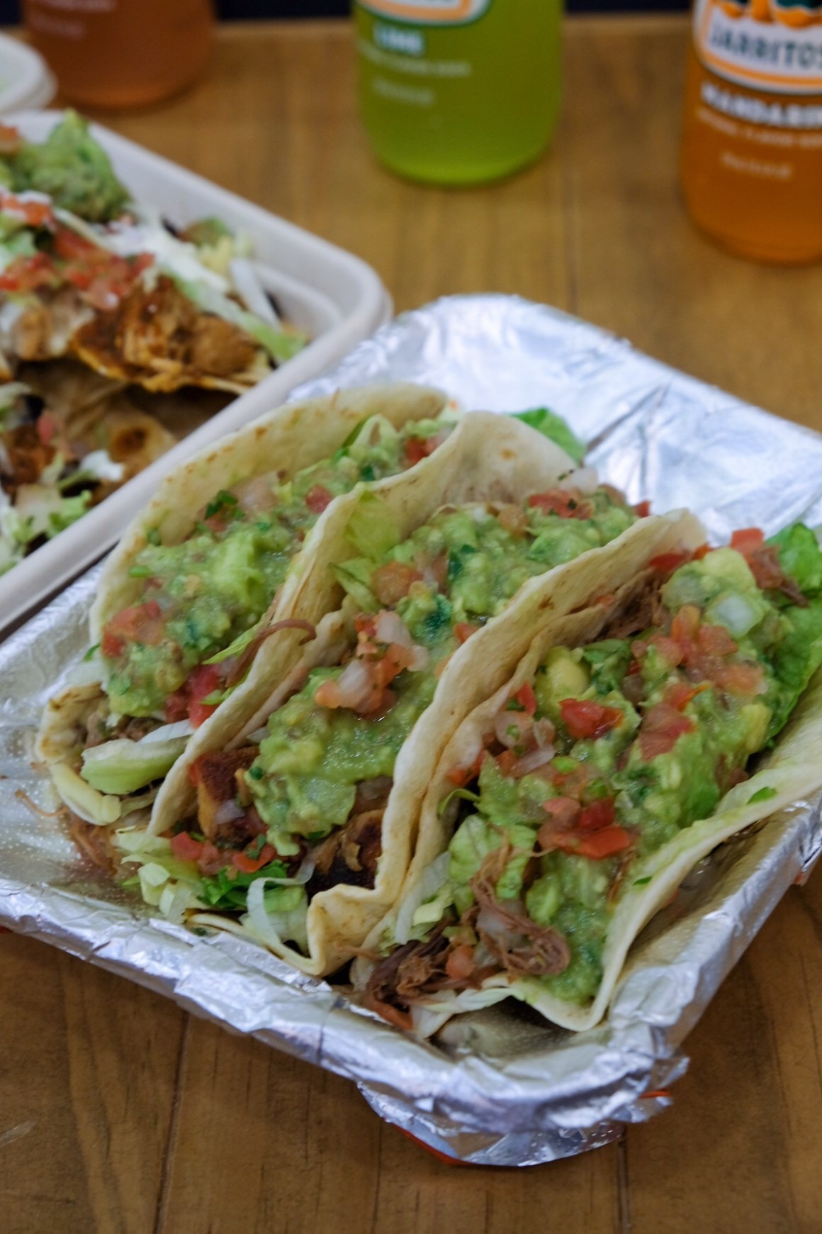 Mad Mex Mexican Food At MBFC Tower 3 - Taco ($10.90 for 3)
