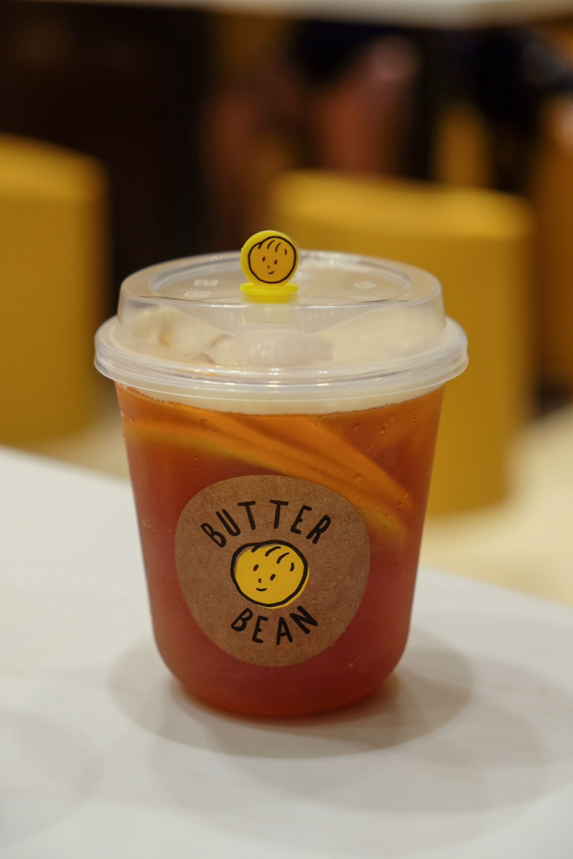 Butter Bean @ VivoCity, Kopi & Toast With A Twist - Lychee Orange Tea