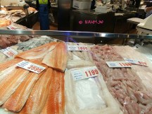 A Fresh Seafood Stall