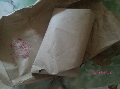 My cakes in the brown wrapper