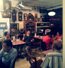Restaurant Interior, second half