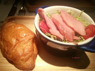 Starter, Smoked Duck Salad