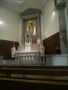 Chapel at Cathedral of Immaculate Conception