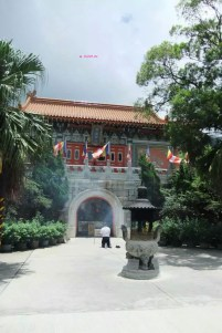 Another View of Po Lin Monastery