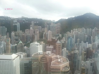 View from Monetary Museum of Victoria Peak Side