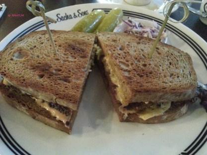 Sacha's Reuben Sandwich