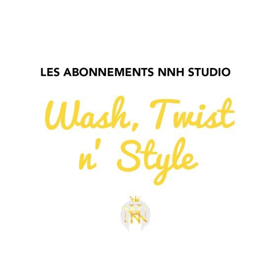 abonnement shmpoing coiffure et reprise de racines locs wash twist and style
