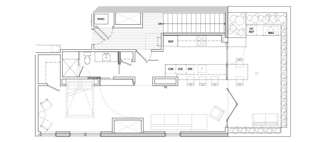 Urban Loft - Floor Plan