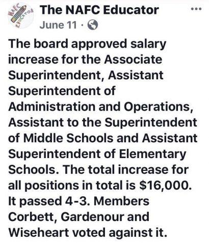 School board member shouldn't be re-elected
