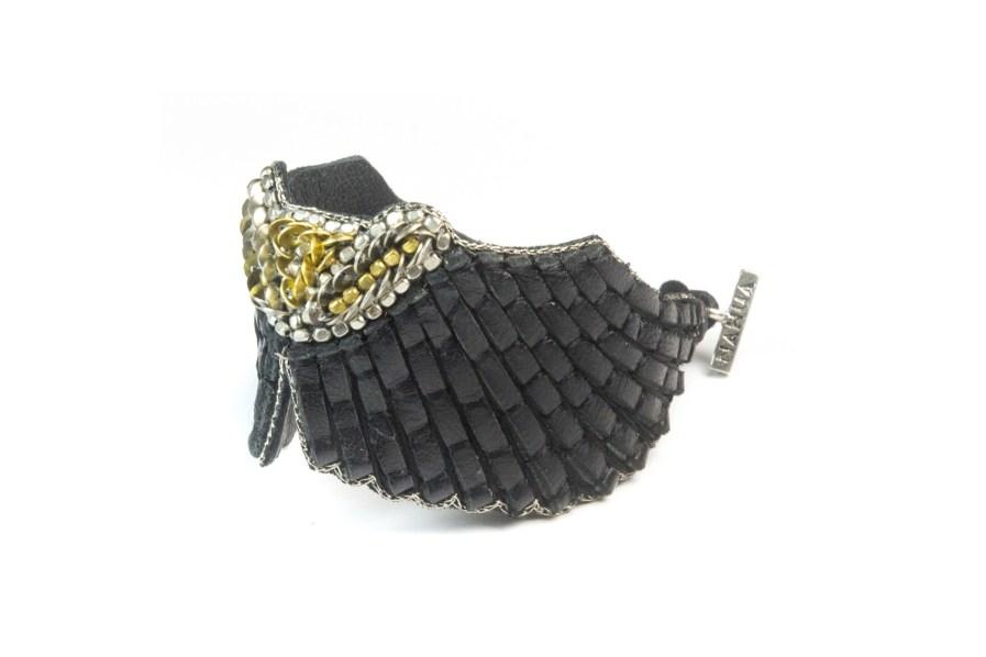 Bracelet rock Angy | Black | Photo 2