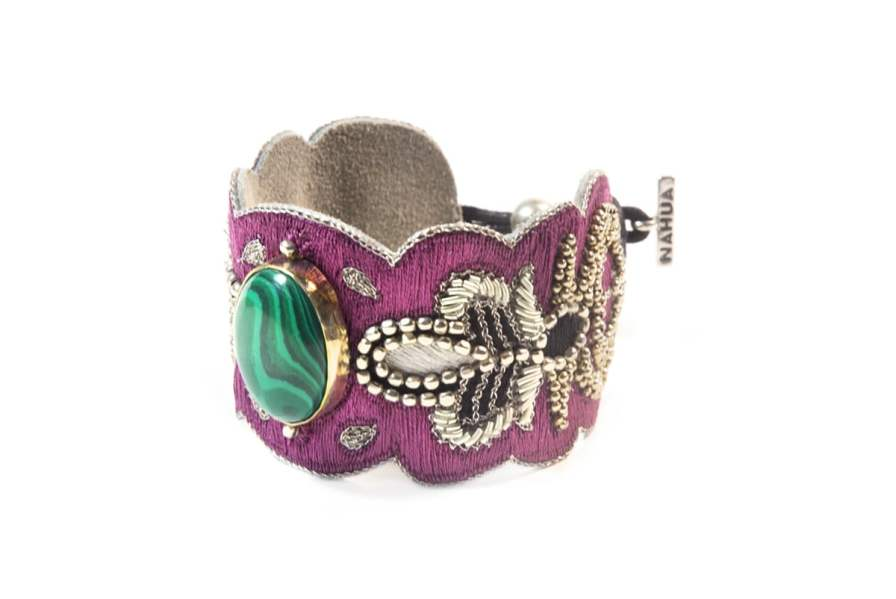 Bracelet chic Opera | Green/Purple | Photo 2