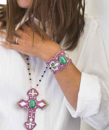 Bracelet Opera Purple NAHUA