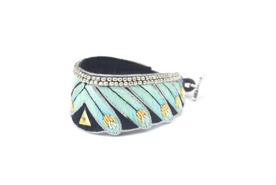 Bracelet ethnique Niall | Turquoise | Photo 2