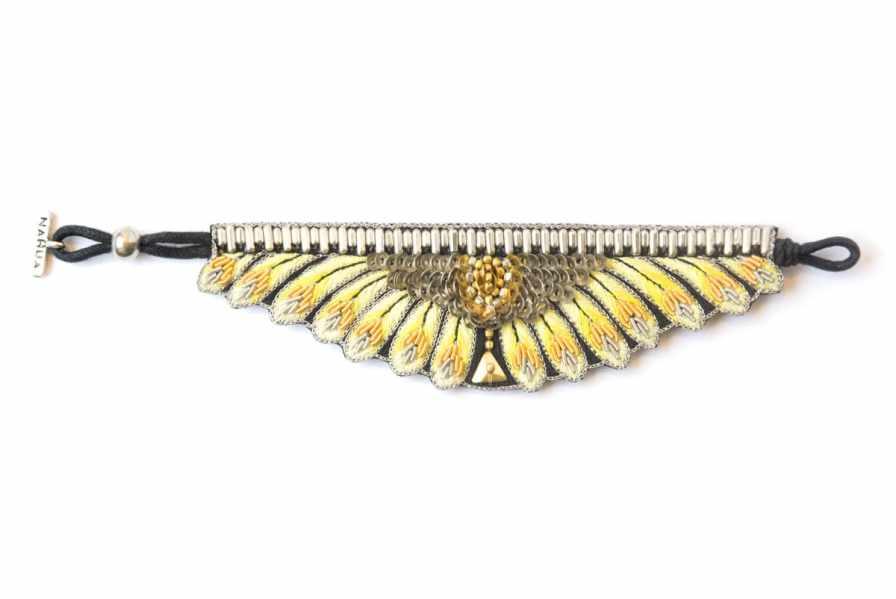 Bracelet ethnique Nita | Yellow | Photo 1